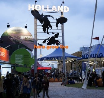 The Netherlands at the World Expo Milan