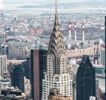 Spaces is moving into the Chrysler Building, it doesn't get more iconic.